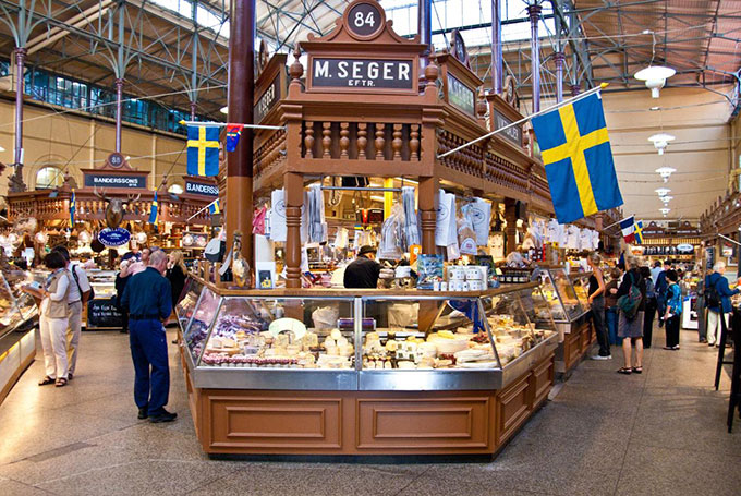 Östermalms Saluhall, Stockholm © Josep M Martí