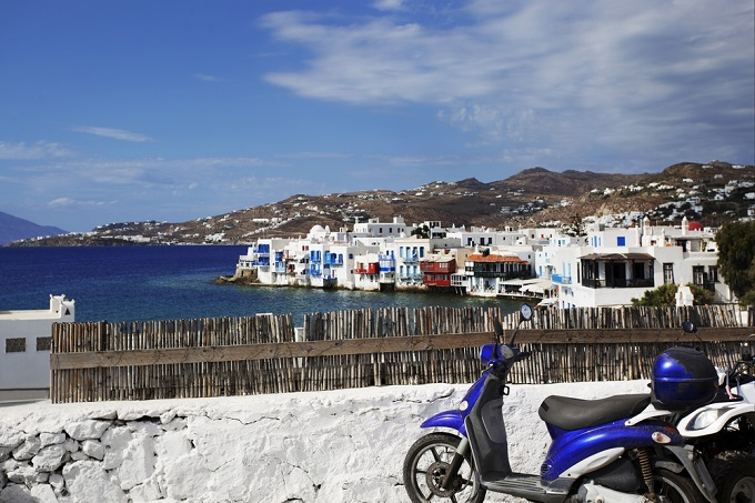Grab some wheels and explore the island by bike
