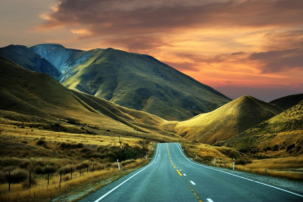 Road tripping in New Zealand
