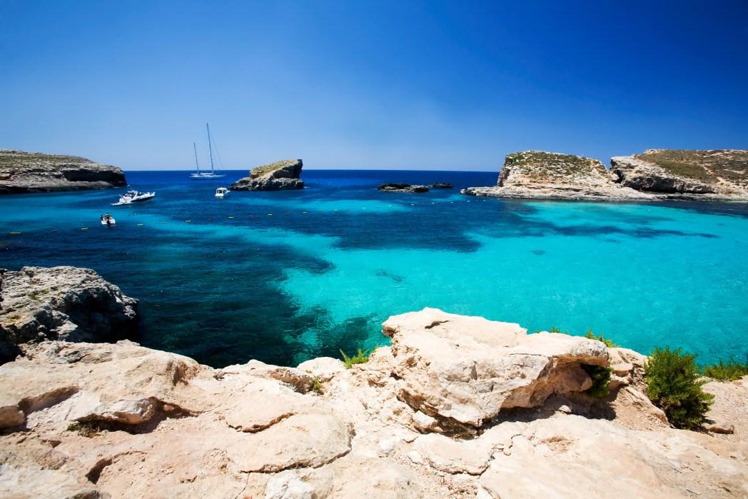 Azure waters await in Malta