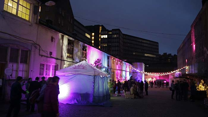 Hidden Door festival, just one of many in the Scottish capital.