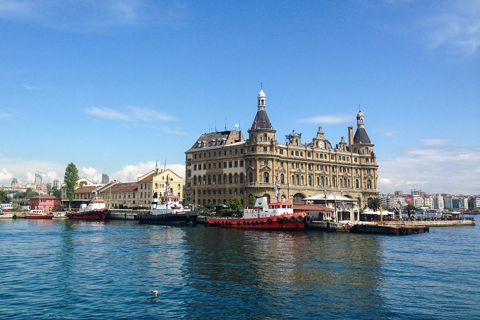 Haydarpasa station, Istanbul © Becki Enright / BackpackerBecki.co