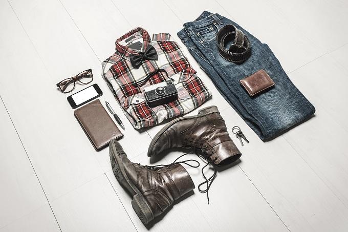 clothes laid out