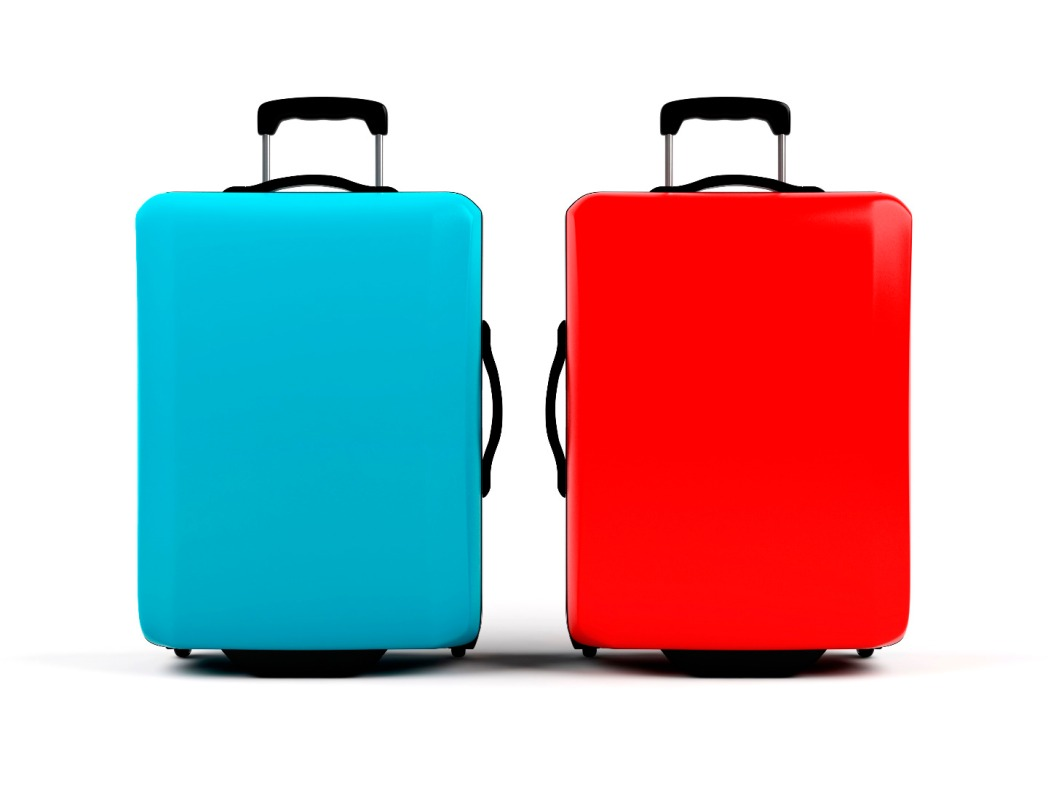 Colourful Roller Luggage