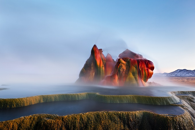 Fly Geyser Nevada Usa