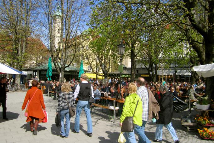 Viktualienmarkt © La Citta Vita/Flickr