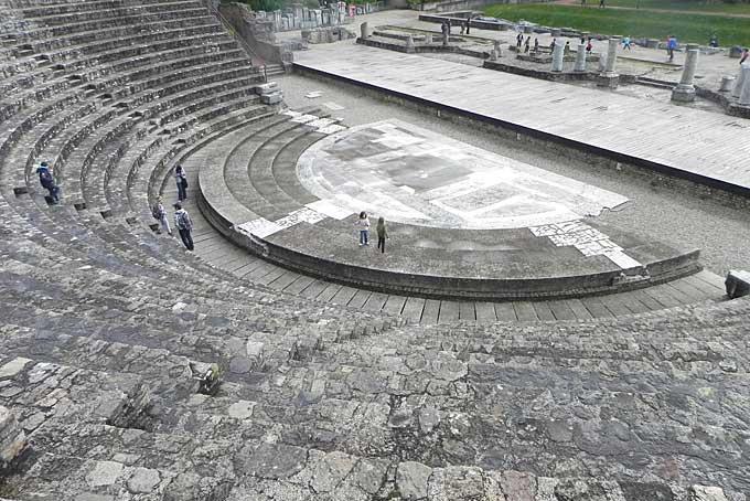 Roman amphitheatre, Lyon