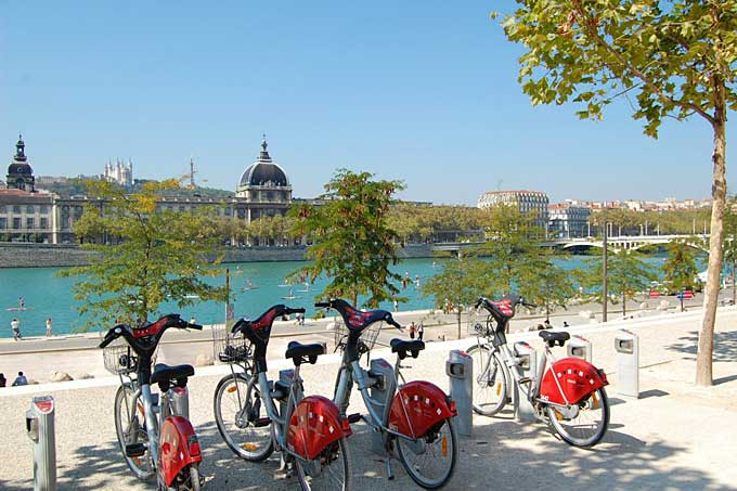 velib bikes, Lyon