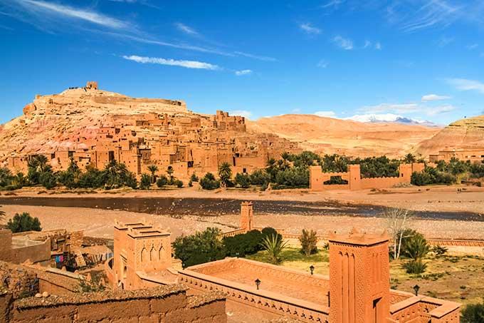 The ksar of Aït-Ben-Haddou, Morocco