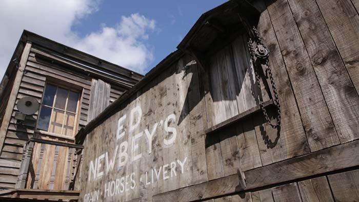 Wild West set in Edinburgh's Morningside.