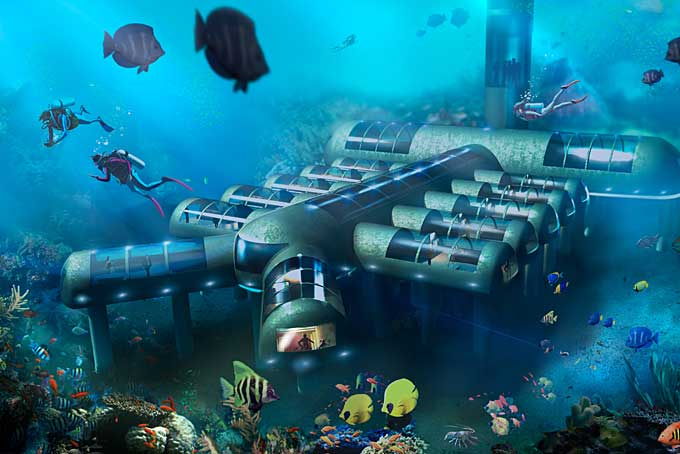8 of the worlds best underwater hotels Skyscanner