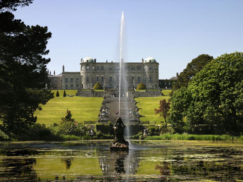 The impressive Powerscourt Estate and gardens in County Wicklow. Credit: ©Beth Ellis / Tourism Ireland