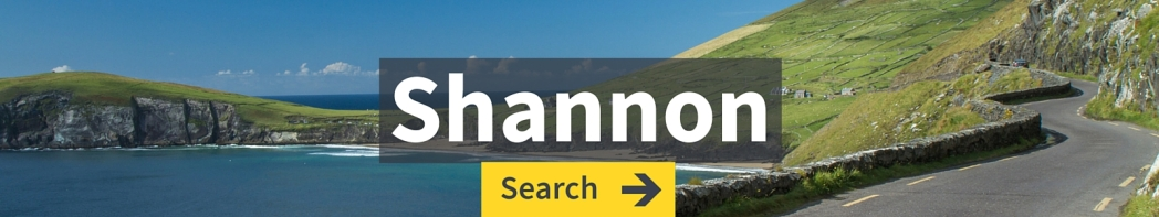 Find cheap flights from Shannon