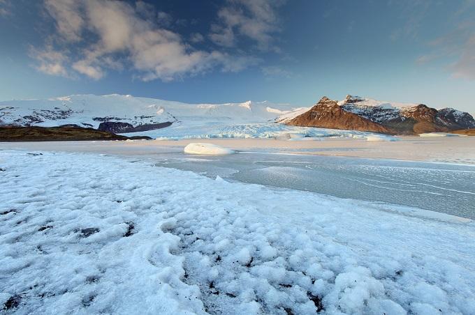 Vatnajokull iceberg, Iceland